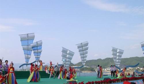 2003中国杭州千岛湖秀水节开幕(图)