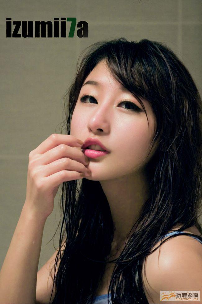 中韩混血儿第一网络美女