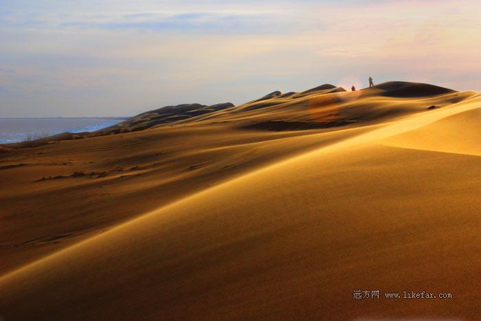 沙漠与海的亲密接触——翡翠岛