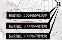 杭政储出[2009]65号