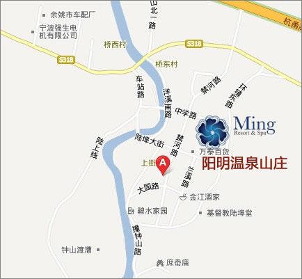 阳明温泉山庄地图