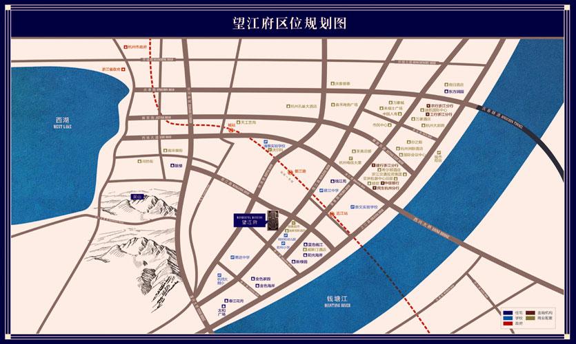 望江府区位图